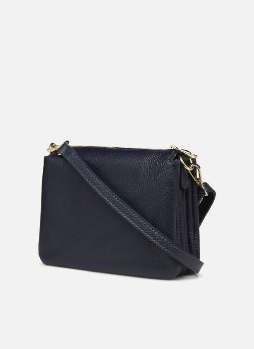 Handtaschen Georgia Rose Pazanne blau ansicht von rechts