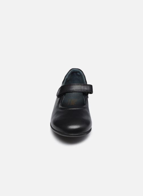 Ballerinas Ubik 7478 schwarz schuhe getragen