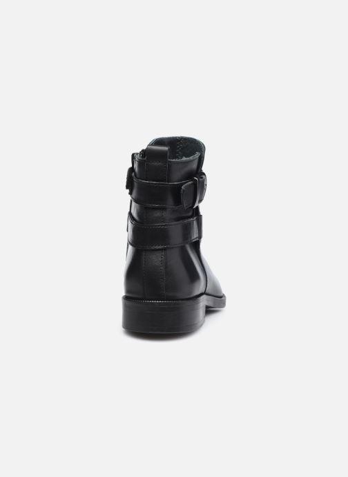 Bottines et boots Ubik 9151 Noir vue droite