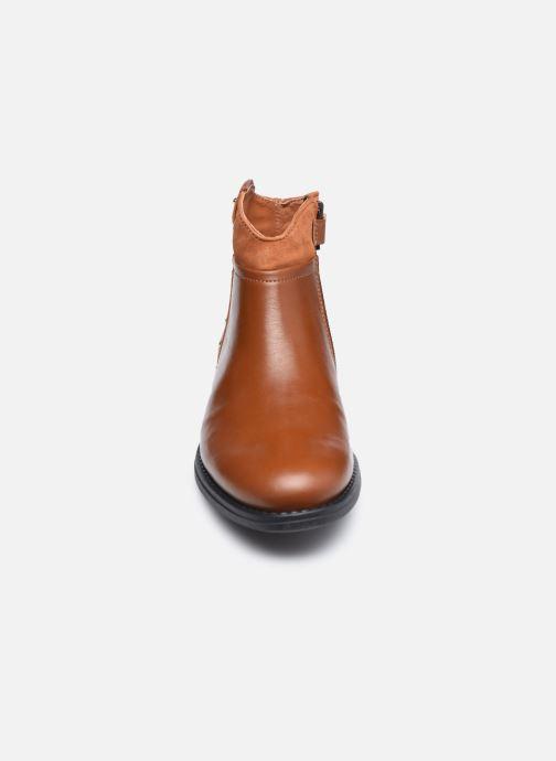 Stiefeletten & Boots Ubik 9771 braun schuhe getragen