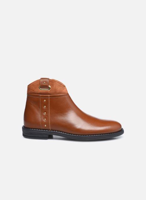Stiefeletten & Boots Ubik 9771 braun ansicht von hinten