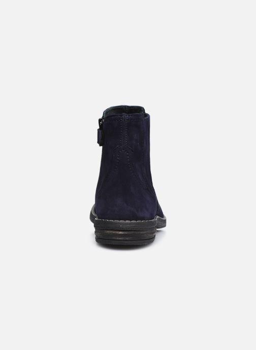 Stiefeletten & Boots Ubik 9791 blau ansicht von rechts