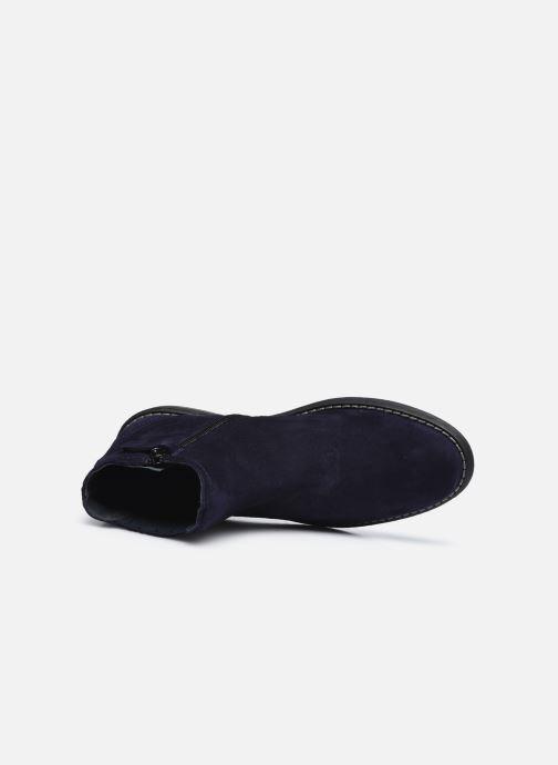Stiefeletten & Boots Ubik 9791 blau ansicht von links