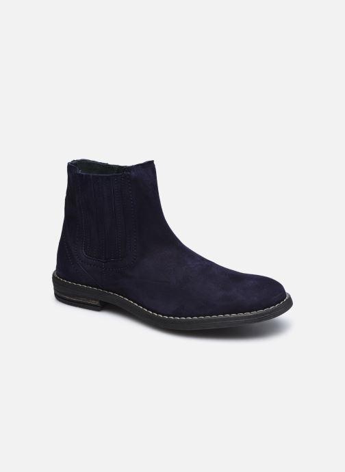 Bottines et boots Ubik 9791 Bleu vue détail/paire