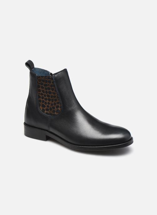 Bottines et boots Ubik 7560 Bleu vue détail/paire