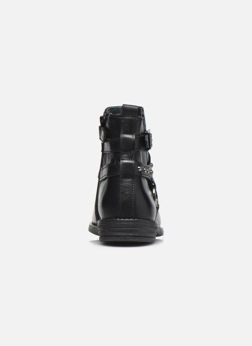 Stiefeletten & Boots Ubik 9777 schwarz ansicht von rechts