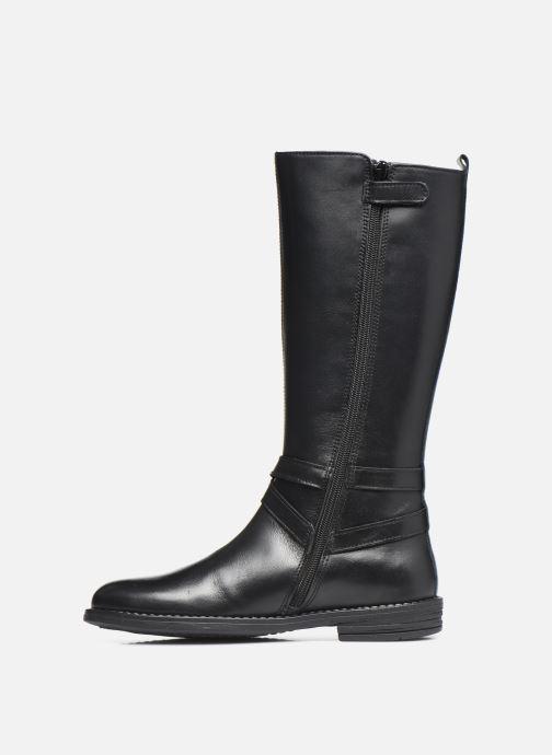 Stiefel Ubik 9818 schwarz ansicht von vorne