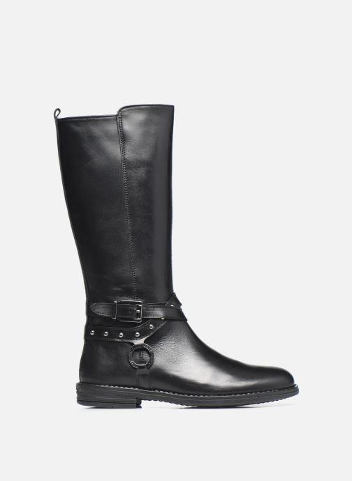 Stiefel Ubik 9818 schwarz ansicht von hinten
