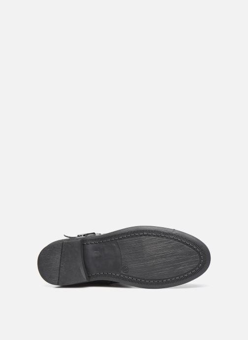 Stiefel Ubik 9818 schwarz ansicht von oben