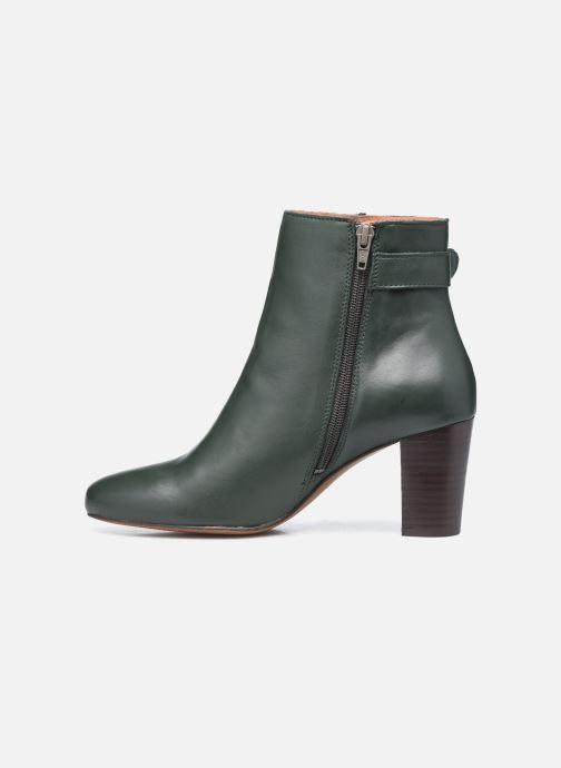 Bottines et boots Georgia Rose Calissa Vert vue face