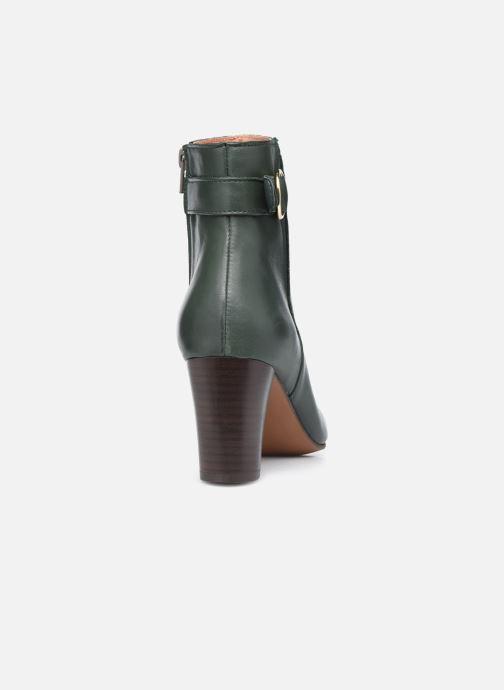 Bottines et boots Georgia Rose Calissa Vert vue droite