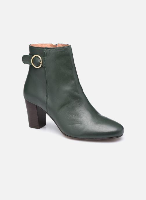 Bottines et boots Georgia Rose Calissa Vert vue détail/paire