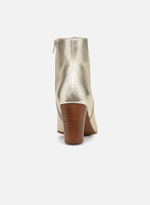 Bottines et boots Georgia Rose Capucine Or et bronze vue droite