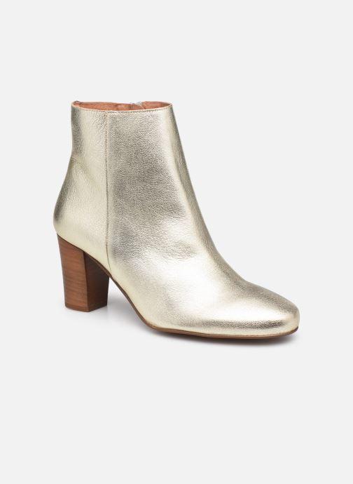 Bottines et boots Georgia Rose Capucine Or et bronze vue détail/paire