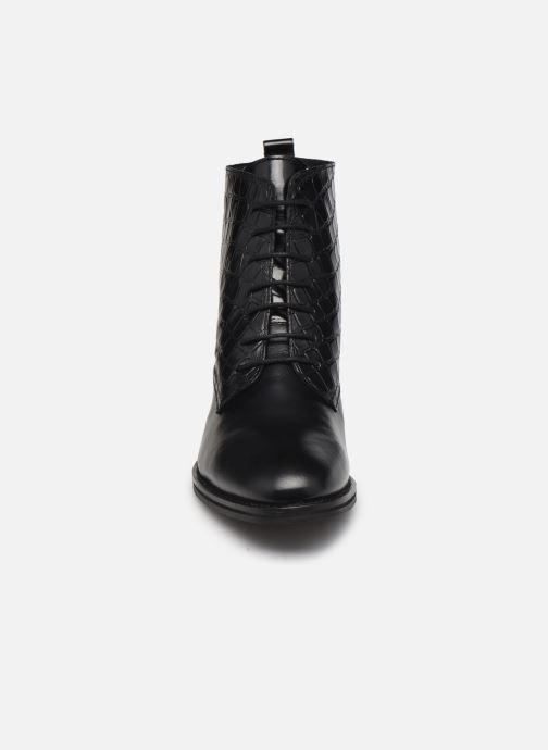 Bottines et boots Georgia Rose Colomba Noir vue portées chaussures
