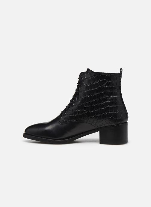 Bottines et boots Georgia Rose Colomba Noir vue face