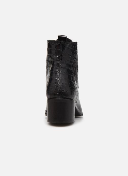 Bottines et boots Georgia Rose Colomba Noir vue droite