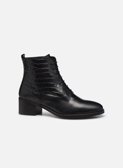 Bottines et boots Georgia Rose Colomba Noir vue derrière