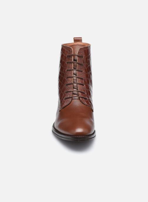 Bottines et boots Georgia Rose Colomba Marron vue portées chaussures