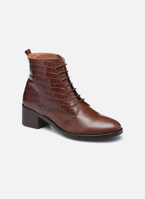 Bottines et boots Georgia Rose Colomba Marron vue détail/paire