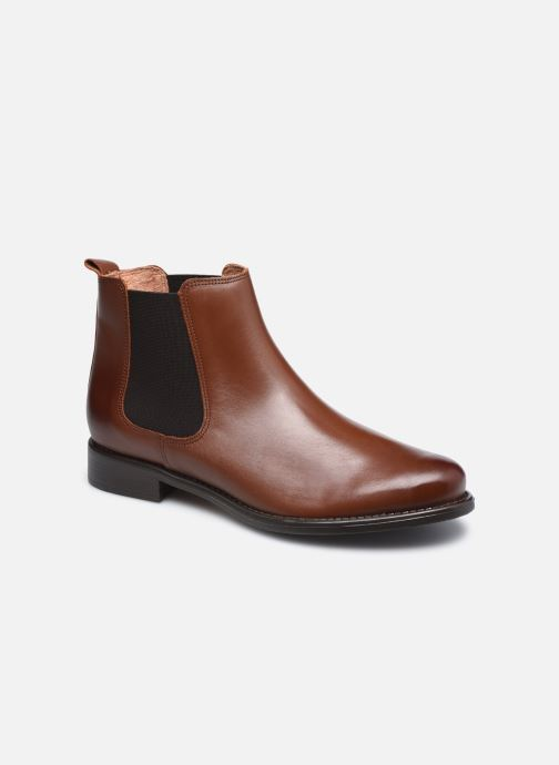 Bottines et boots Georgia Rose Cedra Marron vue détail/paire