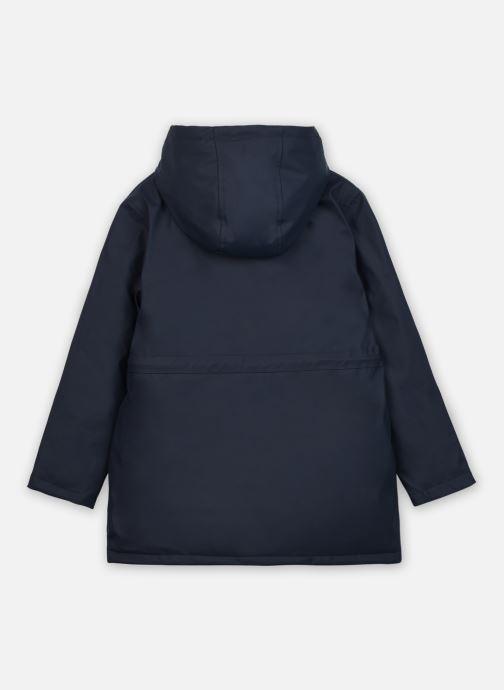 Vêtements Carrement Beau Y16090 Bleu vue portées chaussures
