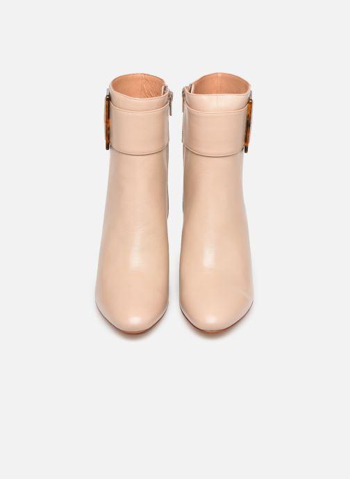 Bottines et boots Made by SARENZA Classic Mix Boots #1 Beige vue portées chaussures