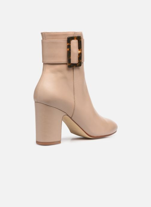 Bottines et boots Made by SARENZA Classic Mix Boots #1 Beige vue face