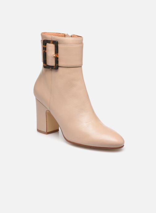 Bottines et boots Made by SARENZA Classic Mix Boots #1 Beige vue droite