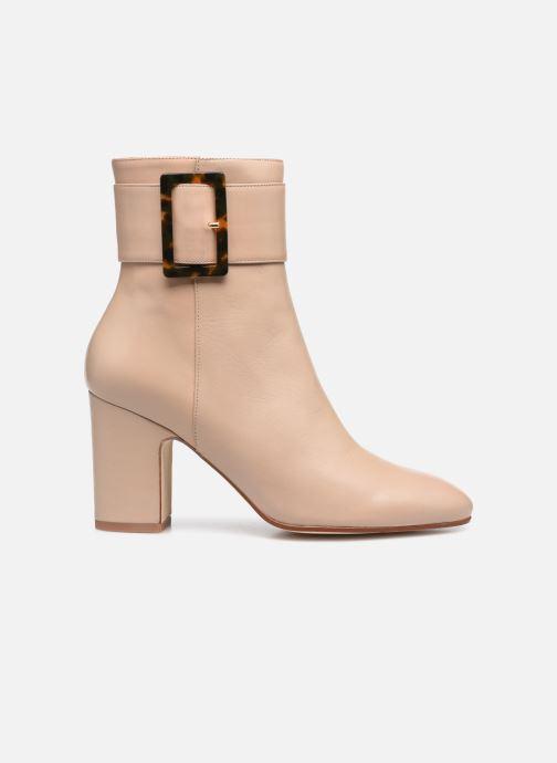 Bottines et boots Made by SARENZA Classic Mix Boots #1 Beige vue détail/paire