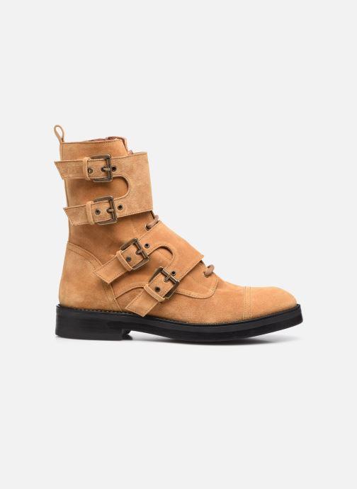 Bottines et boots Made by SARENZA Electric Feminity Boots #9 Beige vue détail/paire
