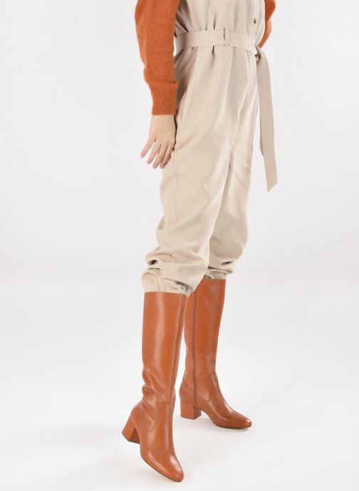 Stiefel Made by SARENZA Sartorial Folk Bottes #2 braun ansicht von unten / tasche getragen