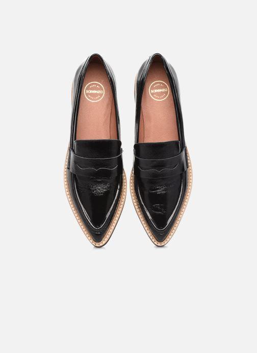 Slipper Made by SARENZA Electric Feminity Mocassins #1 schwarz schuhe getragen