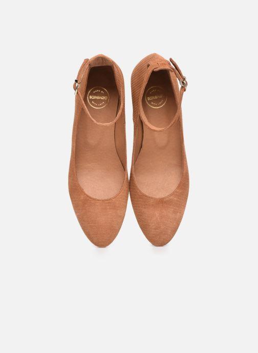Zapatos de tacón Made by SARENZA Classic Mix Escarpins #1 Marrón vista del modelo