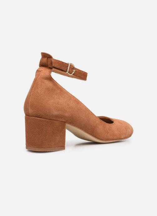 Zapatos de tacón Made by SARENZA Classic Mix Escarpins #1 Marrón vista de frente