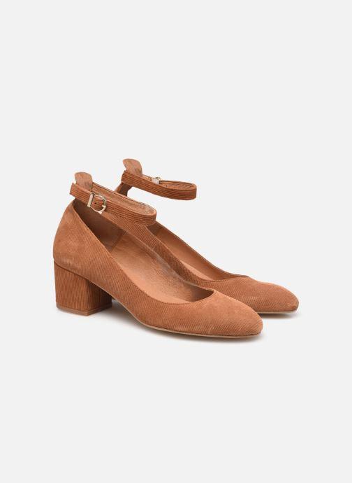 Zapatos de tacón Made by SARENZA Classic Mix Escarpins #1 Marrón vistra trasera