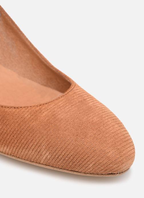 Zapatos de tacón Made by SARENZA Classic Mix Escarpins #1 Marrón vista lateral izquierda