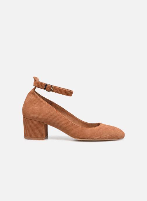Zapatos de tacón Made by SARENZA Classic Mix Escarpins #1 Marrón vista de detalle / par