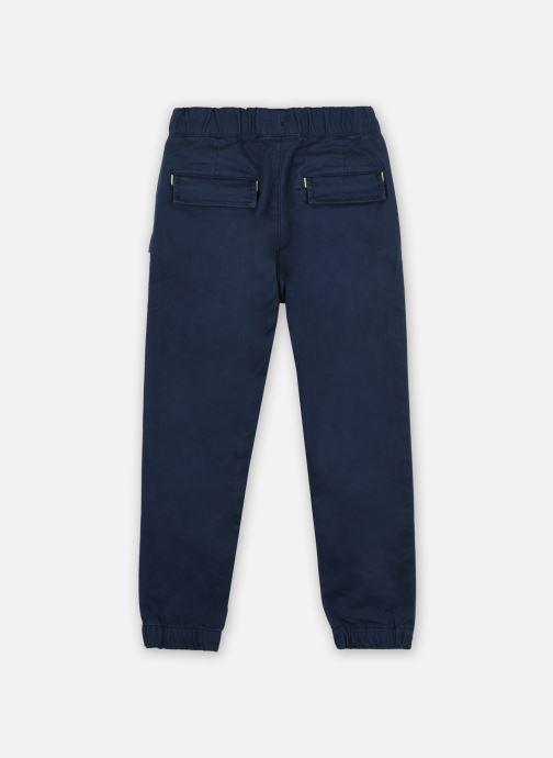 Vêtements BOSS J24678 Bleu vue portées chaussures
