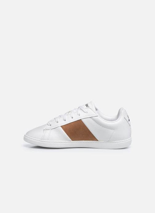 Sneakers Le Coq Sportif COURTCLASSIC GS Bianco immagine frontale