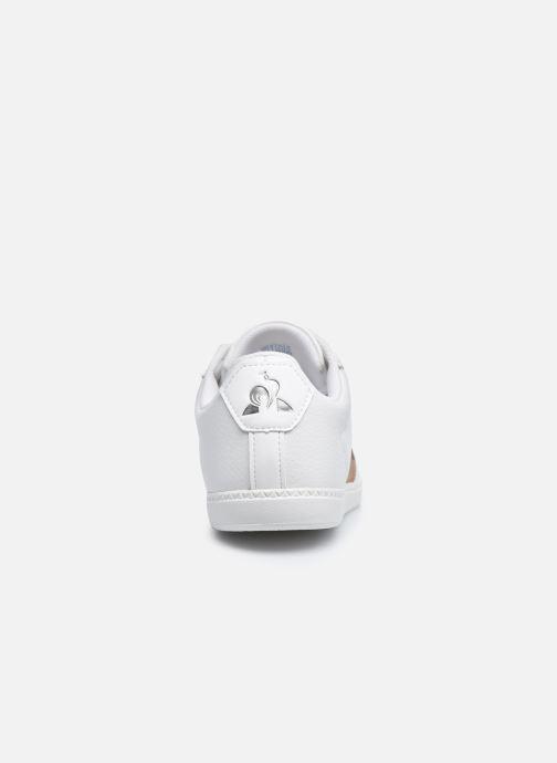 Sneakers Le Coq Sportif COURTCLASSIC GS Bianco immagine destra