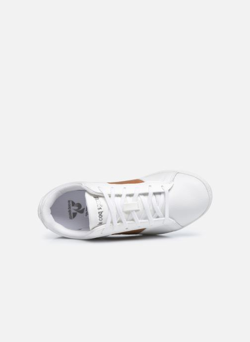 Sneakers Le Coq Sportif COURTCLASSIC GS Bianco immagine sinistra