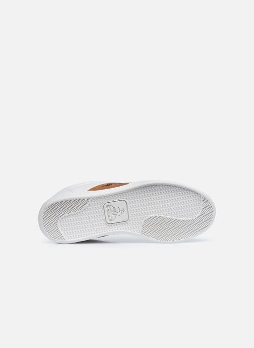 Sneakers Le Coq Sportif COURTCLASSIC GS Bianco immagine dall'alto