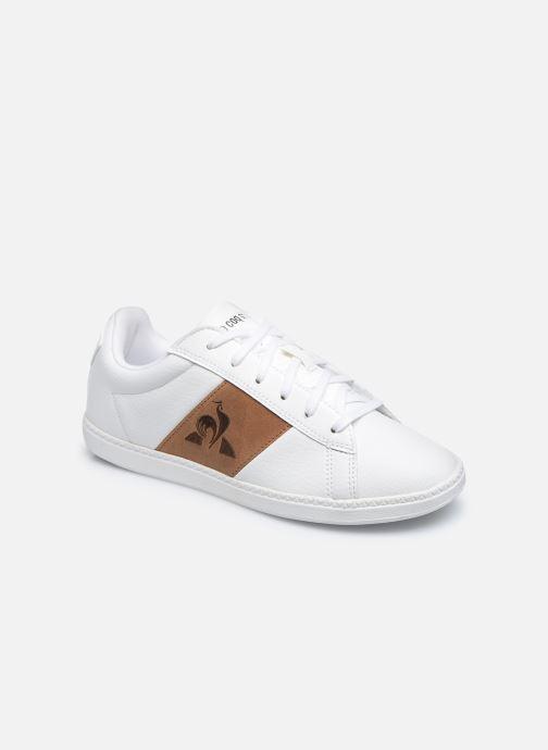 Sneakers Le Coq Sportif COURTCLASSIC GS Bianco vedi dettaglio/paio