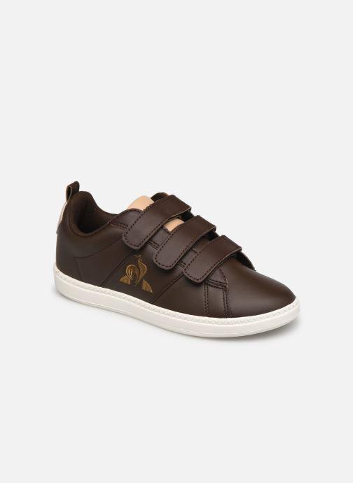 Sneakers Le Coq Sportif COURTCLASSIC PS Bruin detail