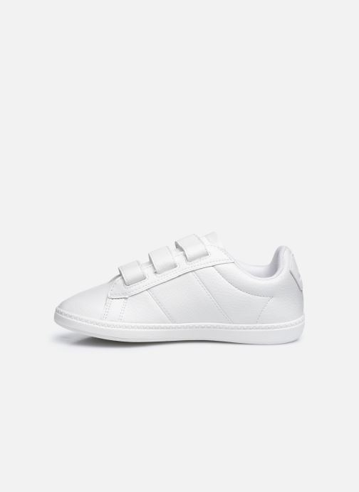 Sneakers Le Coq Sportif COURTCLASSSIC PS FLAG Bianco immagine frontale