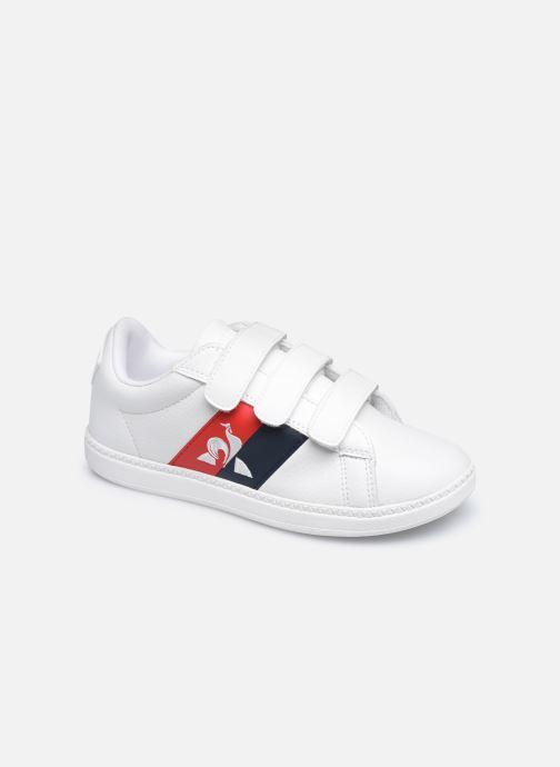 Sneakers Le Coq Sportif COURTCLASSSIC PS FLAG Bianco vedi dettaglio/paio