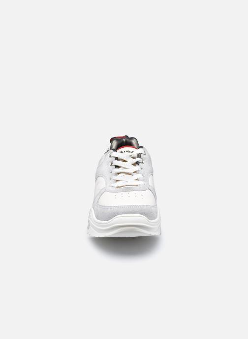 Sneakers Zadig & Voltaire X19018 Bianco modello indossato