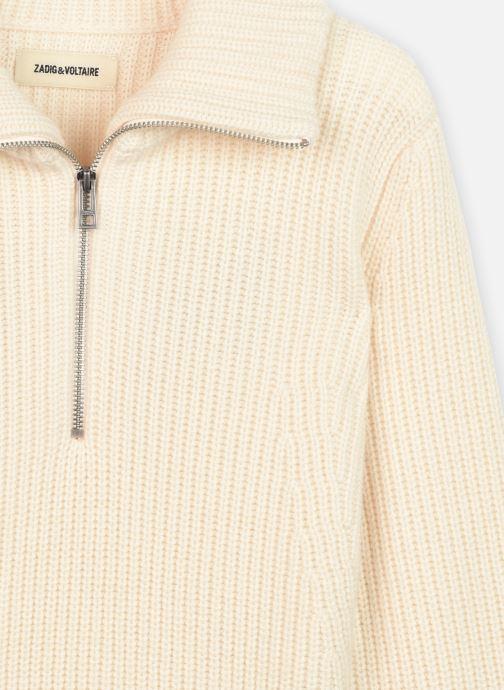 Vêtements Zadig & Voltaire X15231 Blanc vue face