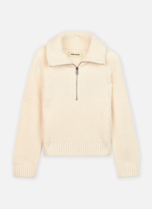 Vêtements Zadig & Voltaire X15231 Blanc vue détail/paire